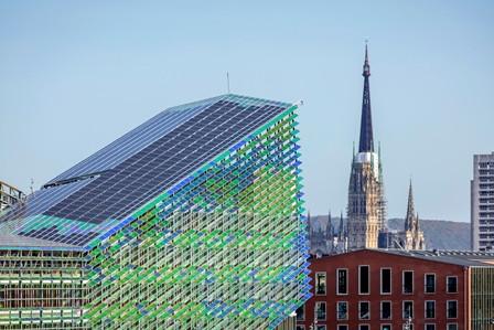 Entre-deux – une architecture de la résonance : une première exposition nord-américaine de Ferrier Marchetti Studio au Centre de design de l'UQAM
