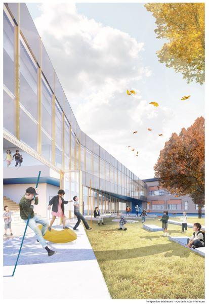 Le Centre de design de l'UQAM présente Devoirs d'architectures : 6 concours d'écoles primaires au Québec