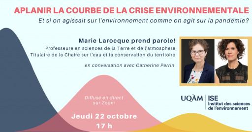 Entretiens ISE: «Aplanir la courbe de la crise environnementale»