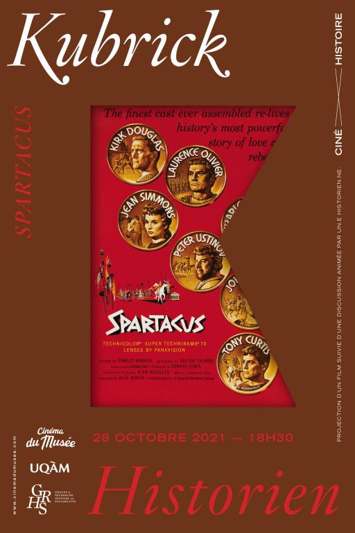Ciné-histoire «Kubrick historien» : «Spartacus» (1960)