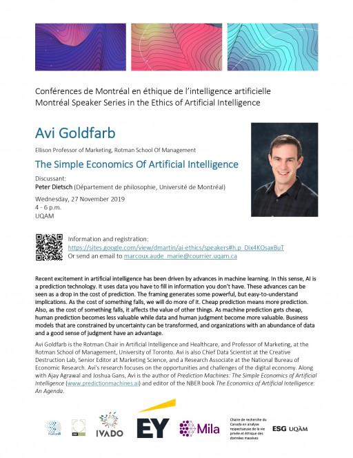 Conférences de Montréal en éthique de l'intelligence artificielle