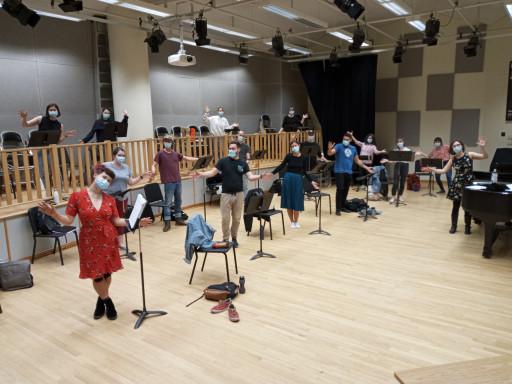 Concert de fin de session de l'Ensemble Jazz Vocal