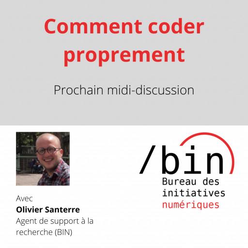 Midi-BIN: «Comment coder proprement»