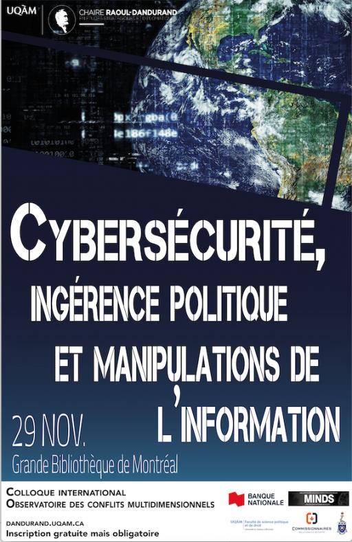 Cybersécurité, ingérence politique et manipulations de l'information
