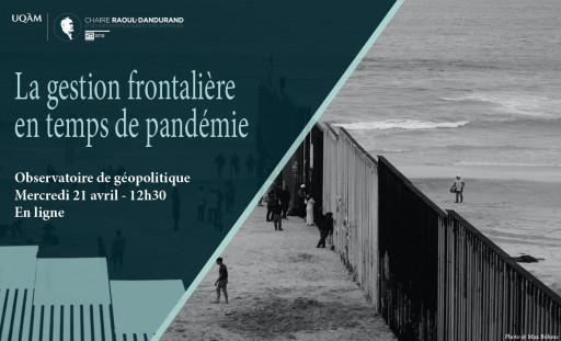 La gestion frontalière en temps de pandémie