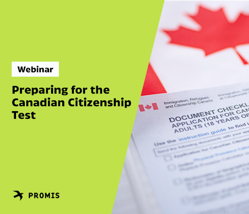 Webinar : Preparing for the Canadian citizenship test