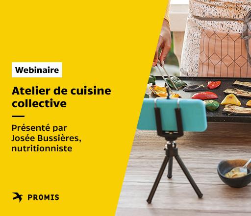 Atelier de cuisine collective
