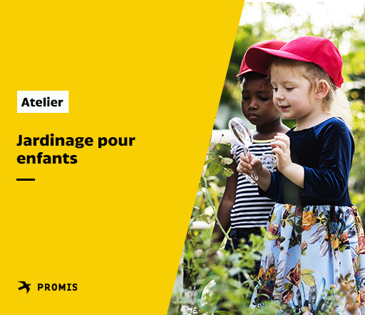 Atelier de jardinage pour enfants