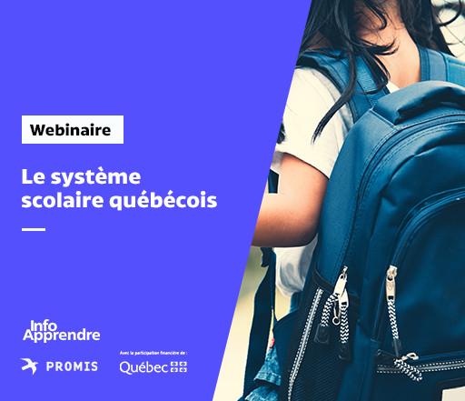 Le système scolaire québécois