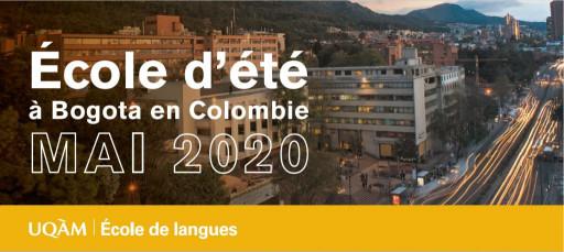 Séance d'information sur l'école d'été en espagnol à Bogota (Colombie)