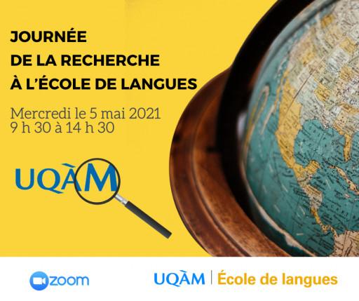 Journée de la recherche à l'École de langues