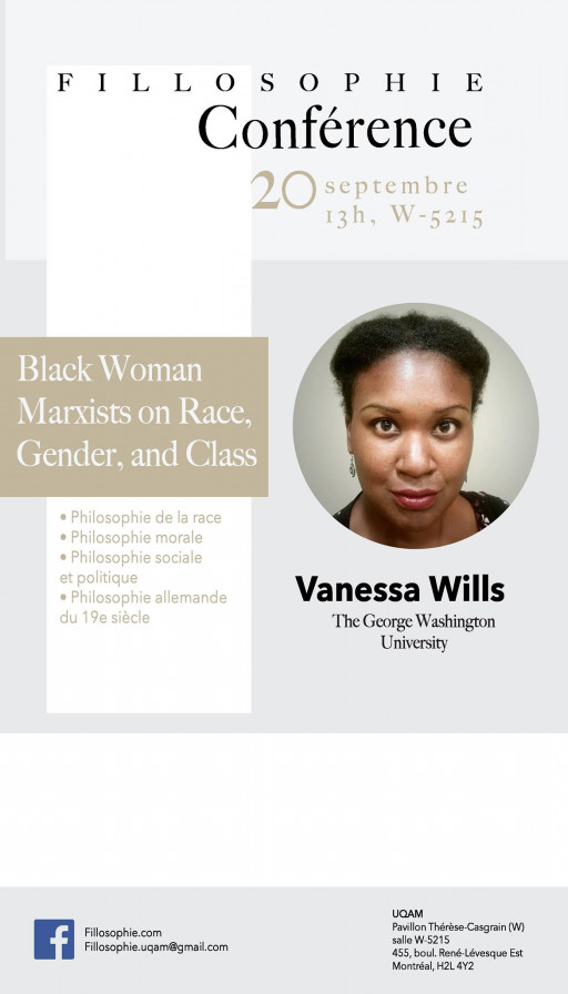 42e conférence Fillosophie - Vanessa Wills