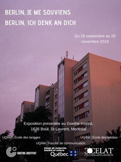 1989-2019/ Berlin, je me souviens – Berlin, ich denk an Dich