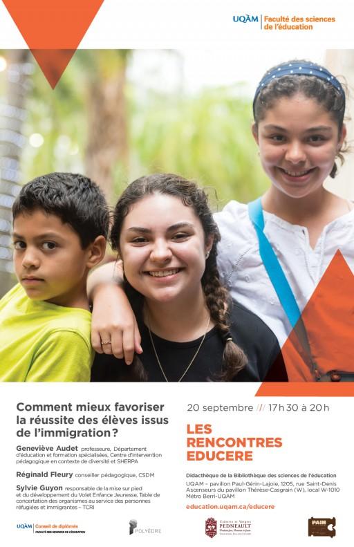 Rencontre Educere: «Comment mieux favoriser la réussite des élèves issus de l'immigration?»