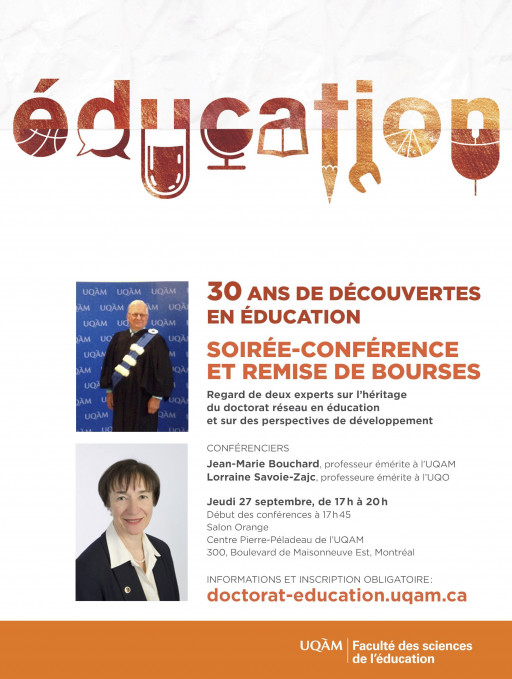 30 ans de découvertes en éducation