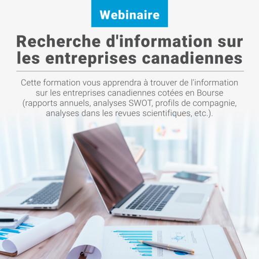 Recherche d'information sur les entreprises canadiennes