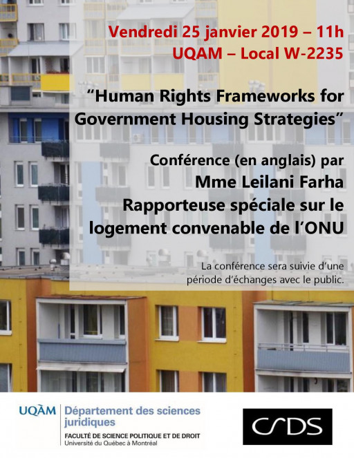 Human Rights Frameworks for Government Housing Strategies