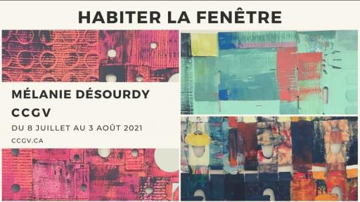 Habiter la fenêtre - Mélanie Désourdy