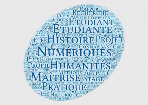 Maîtrise en histoire – Profil humanités numériques