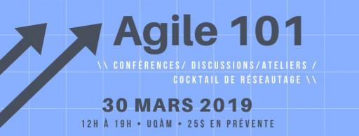 Agile 101 - Conférences, discussions et ateliers