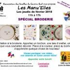 Manu'Elles : Spécial broderie
