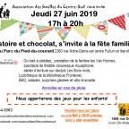 HISTOIRE ET CHOCOLAT s'invite à la fête familiale