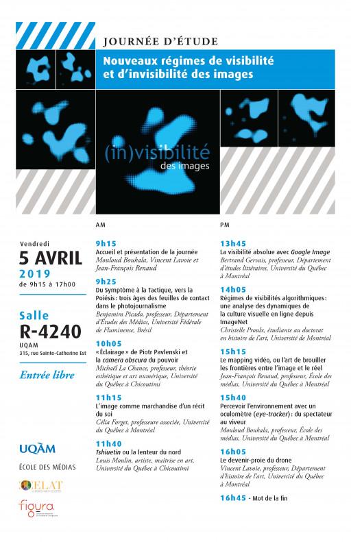 Journée d'études: «(In)visibilité des images»