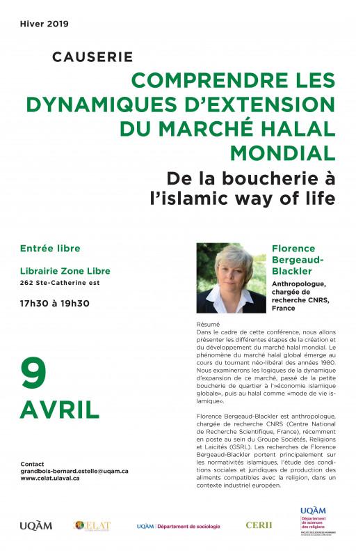 Comprendre les dynamiques d'extension du marché halal mondial : de la boucherie à l'islamic way of life