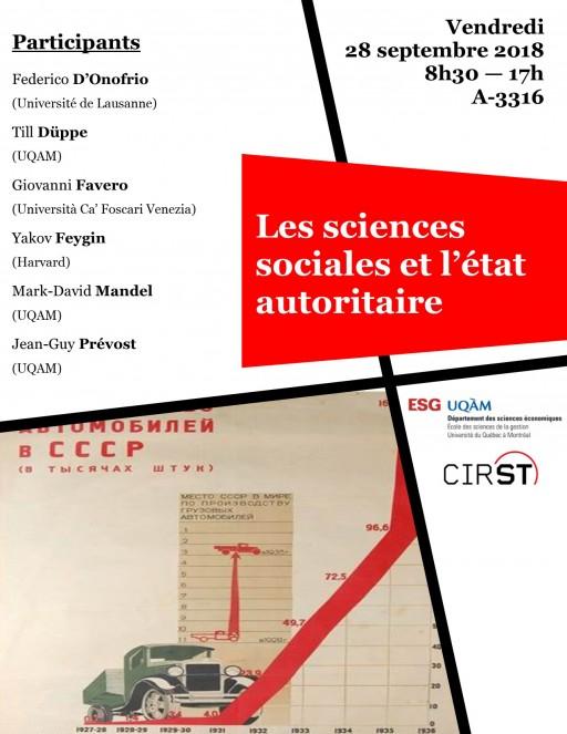 Les sciences sociales et l'état autoritaire