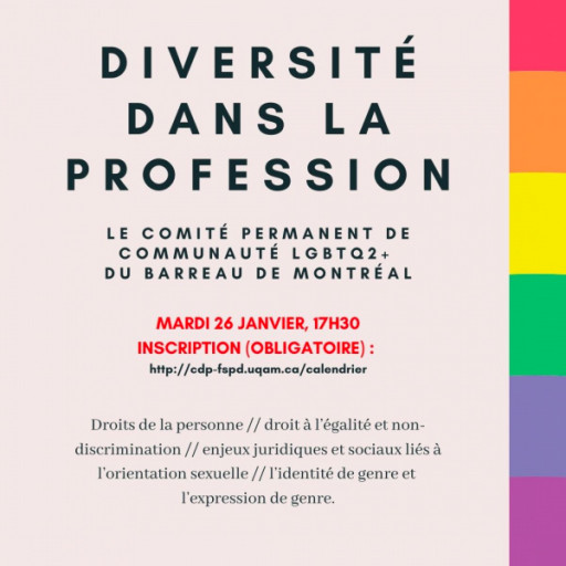 Profession d'avocat - Enjeux de diversité